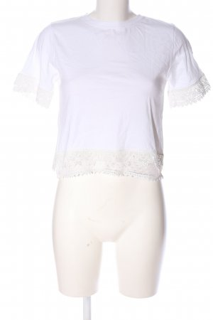 CREP Cropped Shirt white casual look