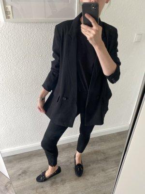 H&M Blazer boyfriend noir