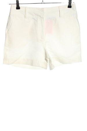 Crew Clothing High-Waist-Shorts wollweiß Casual-Look