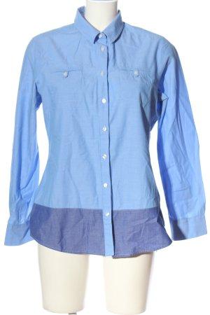 Crew Clothing Long Sleeve Shirt blue casual look