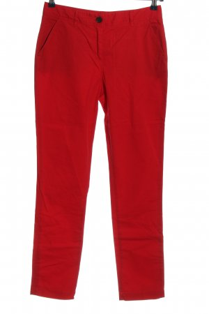 Crew Clothing Drainpipe Trousers red casual look