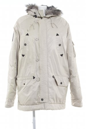 Crew Clothing Wintermantel creme Casual-Look