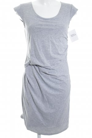 Crew United Shortsleeve Dress light grey casual look