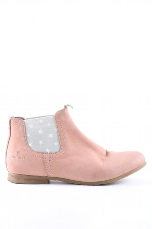 Crick it Slip-on Booties themed print casual look