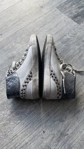 Crime Lace-Up Sneaker multicolored leather