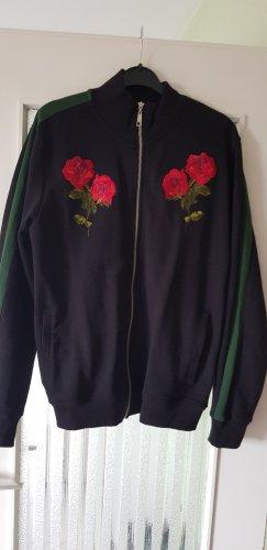 Criminal Damage Sweat Jacket black
