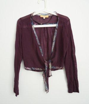 Crisca Bolero purple-brown violet