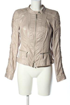 Crisca Short Jacket brown casual look