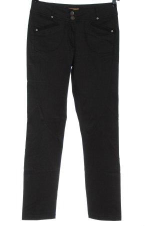 Crisca Jersey Pants black casual look