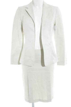 Cristina Effe Kostüm hellbeige Business-Look