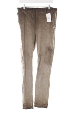 Cristina Gavioli Trousers khaki color gradient