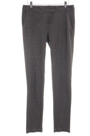 Cristina Gavioli Low-Rise Trousers light grey-silver-colored allover print