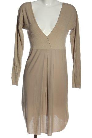 Cristina Gavioli Longsleeve Dress nude elegant