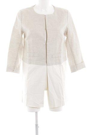 Cristina Gavioli Long Blazer natural white-white business style