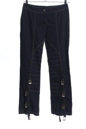 Cristina Gavioli Jersey Pants black casual look