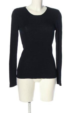 Cristina Gavioli Knitted Sweater black casual look