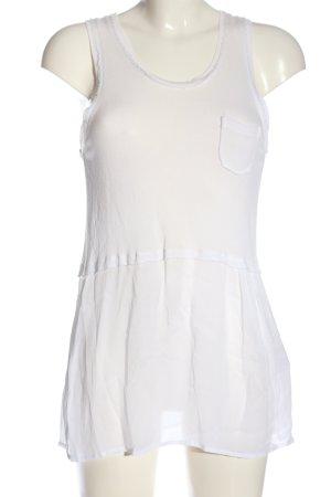 Cristina Gavioli Strappy Top white casual look