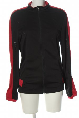 Crivit Sports Jacket black-red athletic style