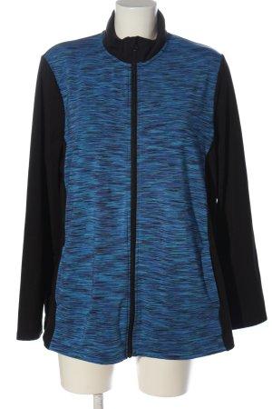 Crivit Felpa nero-blu puntinato stile casual