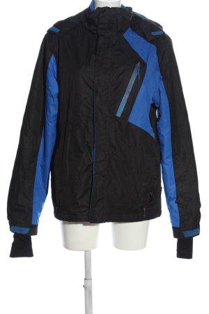 Crivit Übergangsjacke schwarz-blau Casual-Look