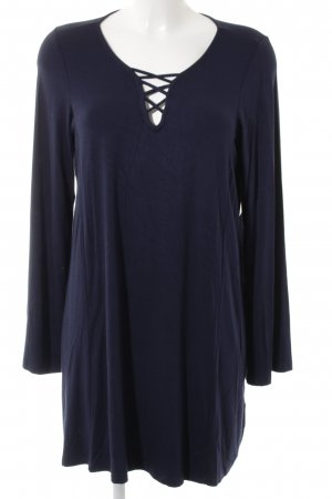 Crizpy Long Shirt dark blue casual look