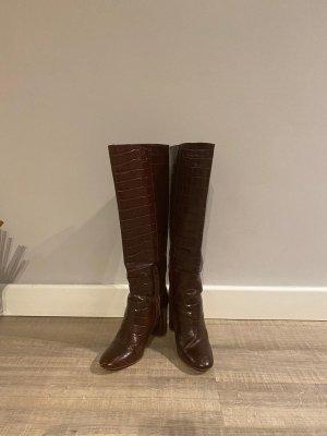Crocco braune Leder Stiefel