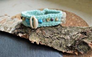 Crochet Hippie Armband mit Muscheln