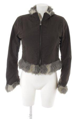 Crocker Kurzjacke graubraun-grau Casual-Look