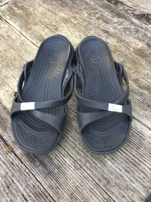 Crocs Pantuflas negro