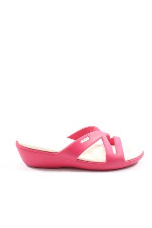 Crocs Chancla de baño rosa elegante