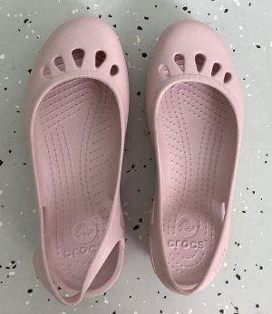 Crocs Chodaki nude