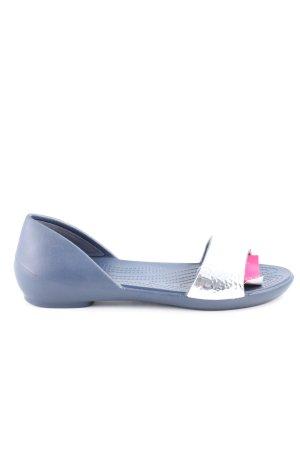 Crocs Dianette-Sandalen blau-silberfarben Casual-Look