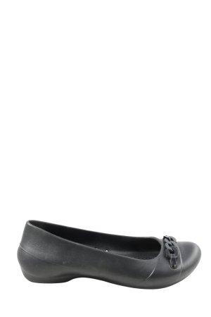Crocs Bailarinas plegables negro look casual