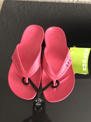 Crocs Flip-Flop Sandals pink