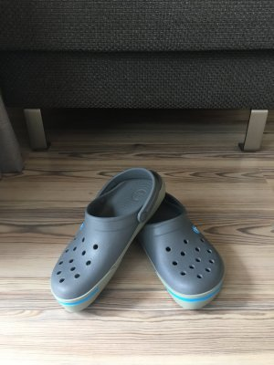 Crocs Outdoor Sandals grey-cornflower blue