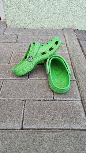 Crocs Chodaki zielony