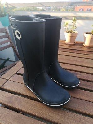 Crocs Gumowe buty czarny-kremowy
