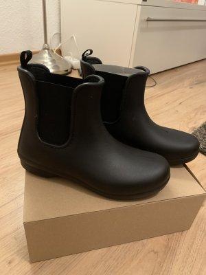 Crocs Botte en caoutchouc noir