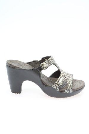 Crocs High Heel Sandal animal pattern casual look