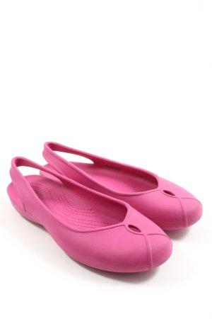 Crocs Komfort-Sandalen pink Casual-Look