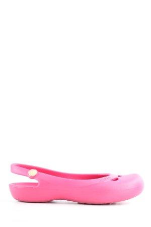 Crocs Comfort Sandals pink casual look