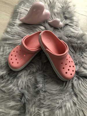 Crocs Scuffs salmon-grey