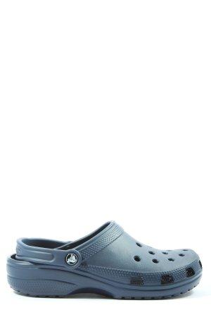 Crocs Sabots blau Casual-Look