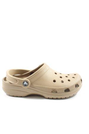 Crocs Sabots natural white casual look