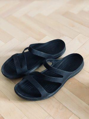 Crocs Sandalo con cinturino nero