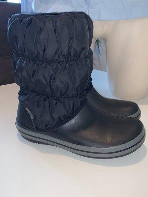 Crocs Buty zimowe czarny-szary Nylon
