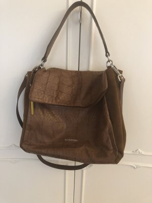 Cromia Carry Bag brown leather