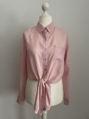 Croop Bluse Forever 21 rosa