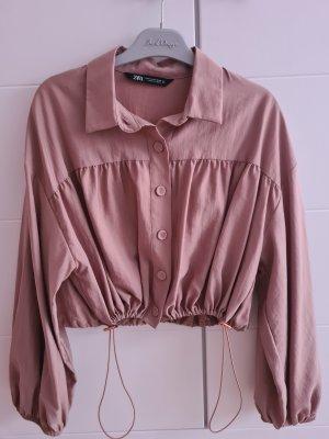 Crop Bluse Jacke Zara M