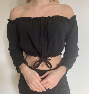 New Look Blusa tipo Carmen negro